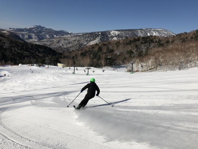 最高の雪質、最高の滑り