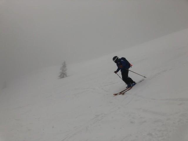 安定感抜群のスキー