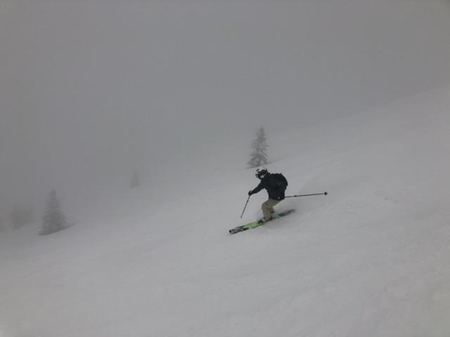 攻める、されど華麗なスキー